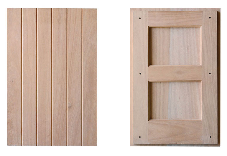 Simple framed panel