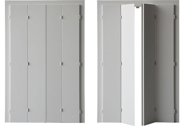 Folding panels